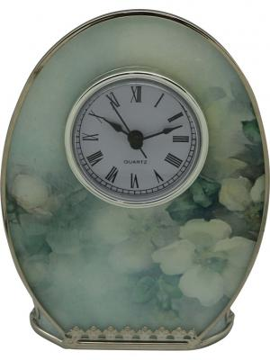 Часы  Акварель JARDIN D'ETE. Цвет: зеленый, белый, серый