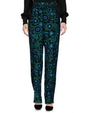 Повседневные брюки KENZO. Цвет: зеленый