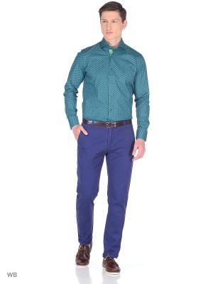 Рубашка Louis Fabel. Цвет: зеленый