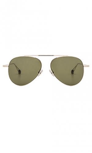 Солнцезащитные очки republique Ahlem. Цвет: металлический серебряный