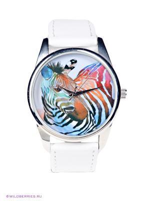 Часы Mitya Veselkov. Цвет: белый, голубой, розовый