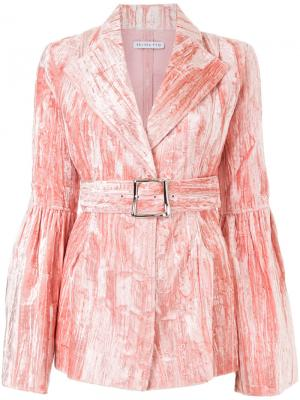 Crease effect fitted jacket Rejina Pyo. Цвет: розовый и фиолетовый