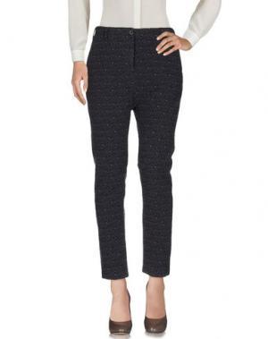Повседневные брюки NOVEMB3R. Цвет: темно-фиолетовый