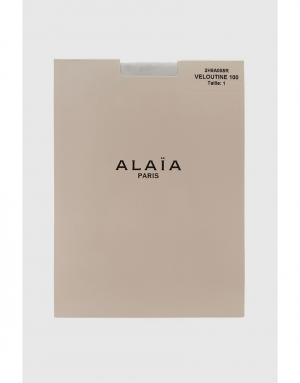 Колготки Azzedine Alaïa. Цвет: коричневый