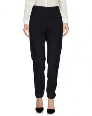Повседневные брюки FRENCH CONNECTION. Цвет: свинцово-серый