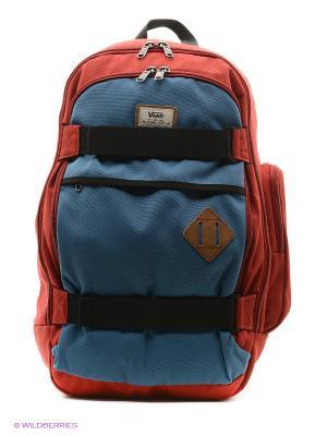 Рюкзак VANS. Цвет: красный, индиго