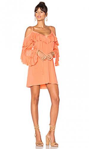 Платье shauna VAVA by Joy Han. Цвет: оранжевый