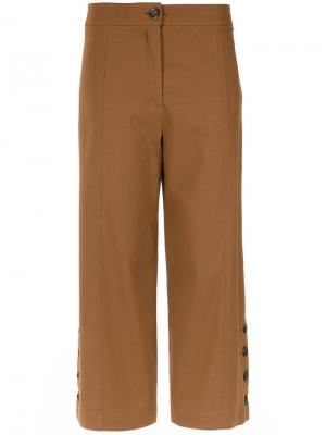 Side buttons cullotes Nk. Цвет: коричневый