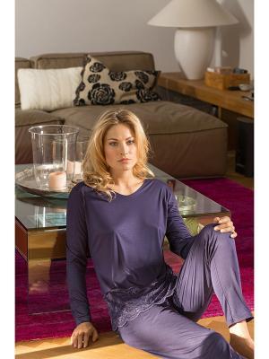 Брюки Nina von C.. Цвет: фиолетовый