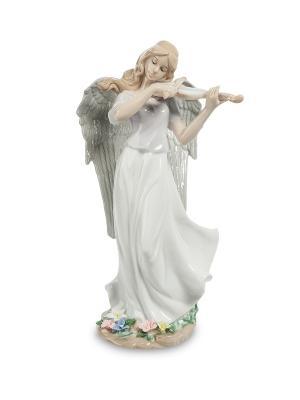 Статуэтка Волшебная Cкрипка Pavone. Цвет: белый