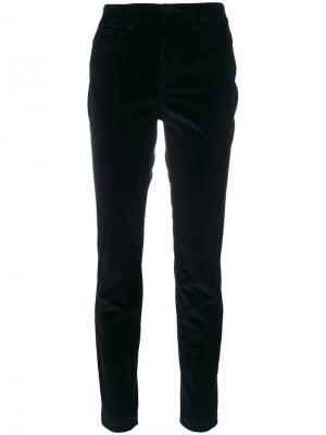 Бархатные брюки Dolce & Gabbana. Цвет: чёрный
