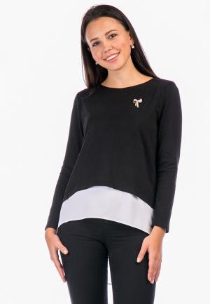 Блуза Mankato. Цвет: черный