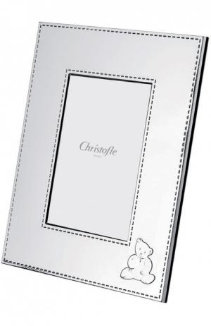 Рамка для фото Charlie bear Christofle. Цвет: бесцветный