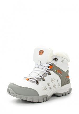 Ботинки трекинговые Baden. Цвет: белый