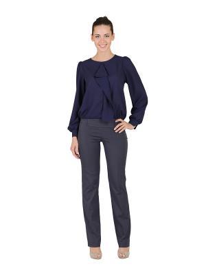 Блуза D.VA. Цвет: темно-синий, индиго