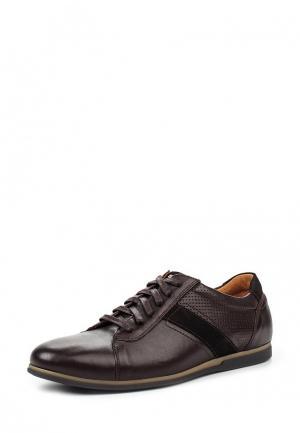 Кроссовки Giatoma Niccoli. Цвет: коричневый