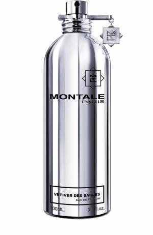 Парфюмерная вода Vetiver Des Sables Montale. Цвет: бесцветный