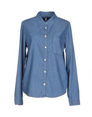 Джинсовая рубашка 2ND DAY. Цвет: синий