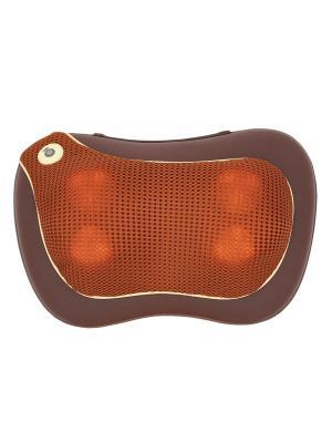 Массажная подушка uTenon Gess. Цвет: коричневый, светло-коричневый