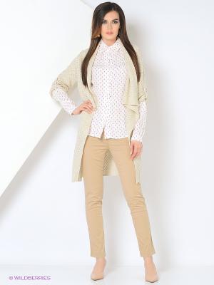 Кардиган Milana Style. Цвет: кремовый