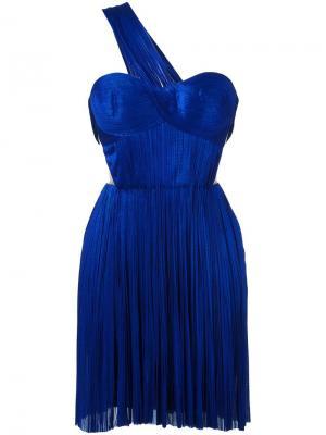 Платье Imman Maria Lucia Hohan. Цвет: синий