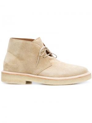 Классические ботинки-дезерты Common Projects. Цвет: коричневый