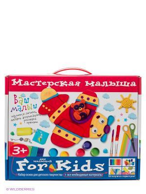Мастерская малыша. Чемоданчик. Набор основ и материалов для творчества. 3+ АЙРИС-пресс. Цвет: белый, синий, красный
