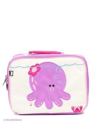 Ланч-бокс Penelope - Octopus Beatrix NY. Цвет: сиреневый, малиновый, молочный