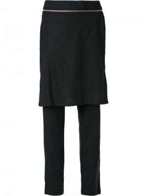 Skirt layered trousers Uma | Raquel Davidowicz. Цвет: чёрный