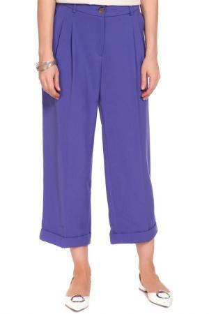 Брюки BGN. Цвет: фиолетовый
