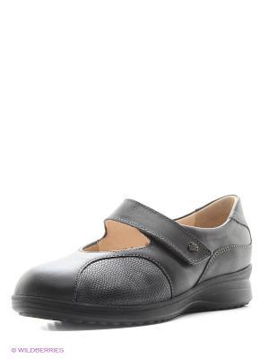 Туфли ортопедические Finn Comfort. Цвет: коричневый