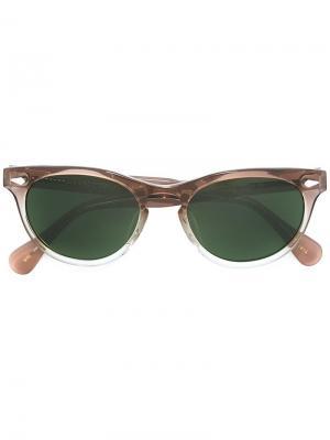 Солнцезащитные очки Bummi Moscot. Цвет: серый