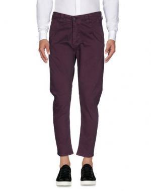 Повседневные брюки YES ZEE BY ESSENZA. Цвет: фиолетовый