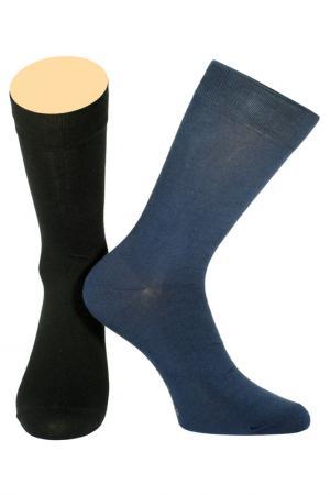 Носки Collonil. Цвет: черный, синий