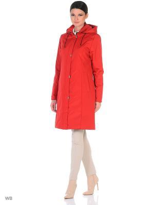 Пальто NANNA Maritta. Цвет: красный