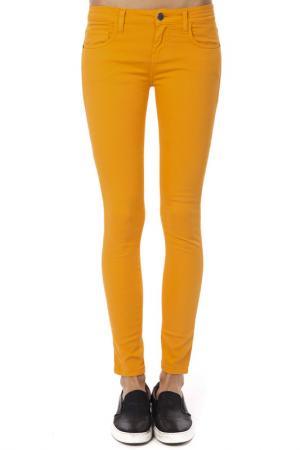 Брюки Trussardi. Цвет: orange
