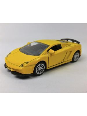 Машинка инерционная Азбука Тойс. Цвет: желтый