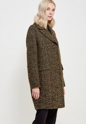Пальто AzellRicca Azell'Ricca. Цвет: зеленый