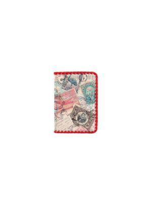Обложка для паспорта Кажан. Цвет: розовый