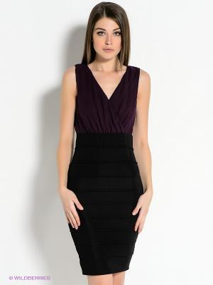 Платье AX Paris. Цвет: фиолетовый