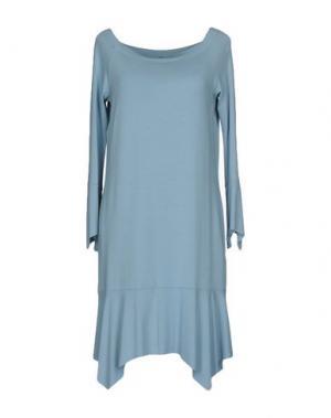 Короткое платье CARLA G.. Цвет: небесно-голубой