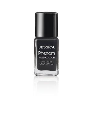 Phenom Цветное покрытие Vivid Colour Caviar Dreams № 14, 15 мл JESSICA. Цвет: антрацитовый