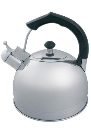 Чайник со свистком 3,5 л Appetite. Цвет: серый