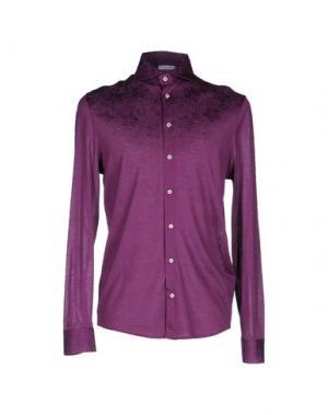 Pубашка GRAN SASSO. Цвет: фиолетовый
