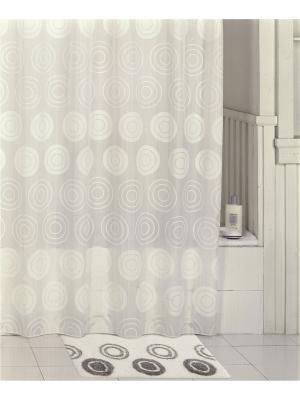 Коврик для ванной IDDIS. Цвет: белый, черный