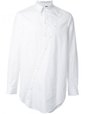 Многослойная рубашка Icosae. Цвет: белый
