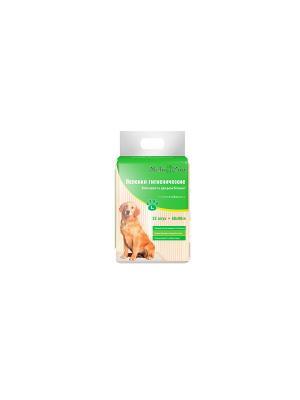 Пеленки гигиенические Yo-Yo для домашних животных, р-р L, листа 60х90 см, 25 шт./уп., PP760 Maneki. Цвет: белый