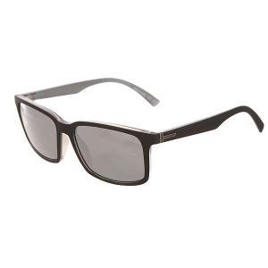 Очки  Pinch Black Satin/Grey Chrome Von Zipper. Цвет: черный,серый