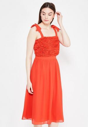 Платье LOST INK. Цвет: красный