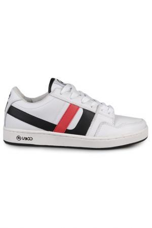 Сникерсы LANDO. Цвет: white, red, black
